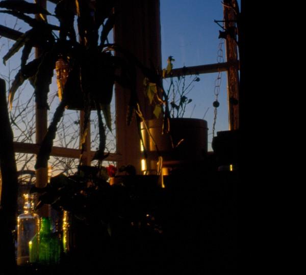 ljus på verandan