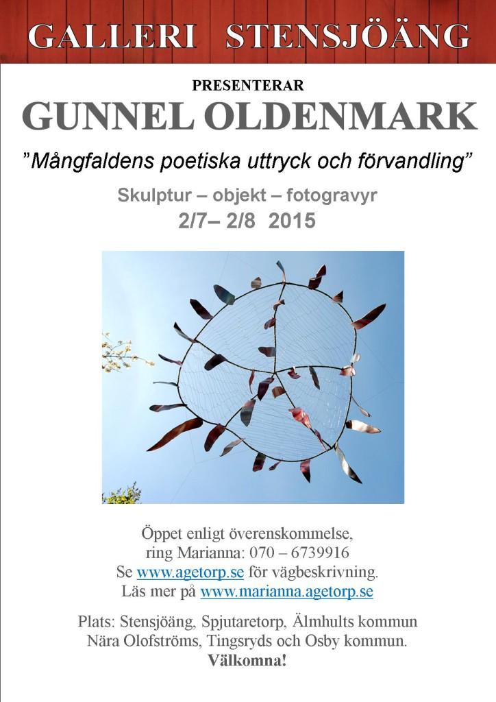 Gunnel Oldenmark efteraffisch A4