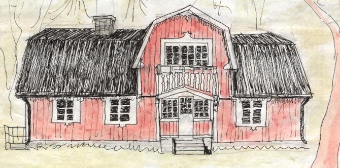 Akvarell Martin Lundström