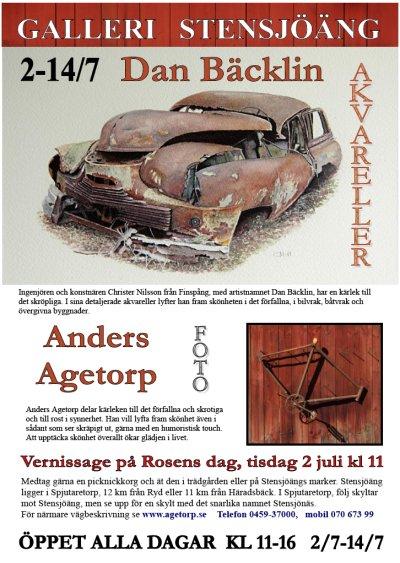 Mer förfall åt folket Rosens dag 2013 Galleri Stensjöäng