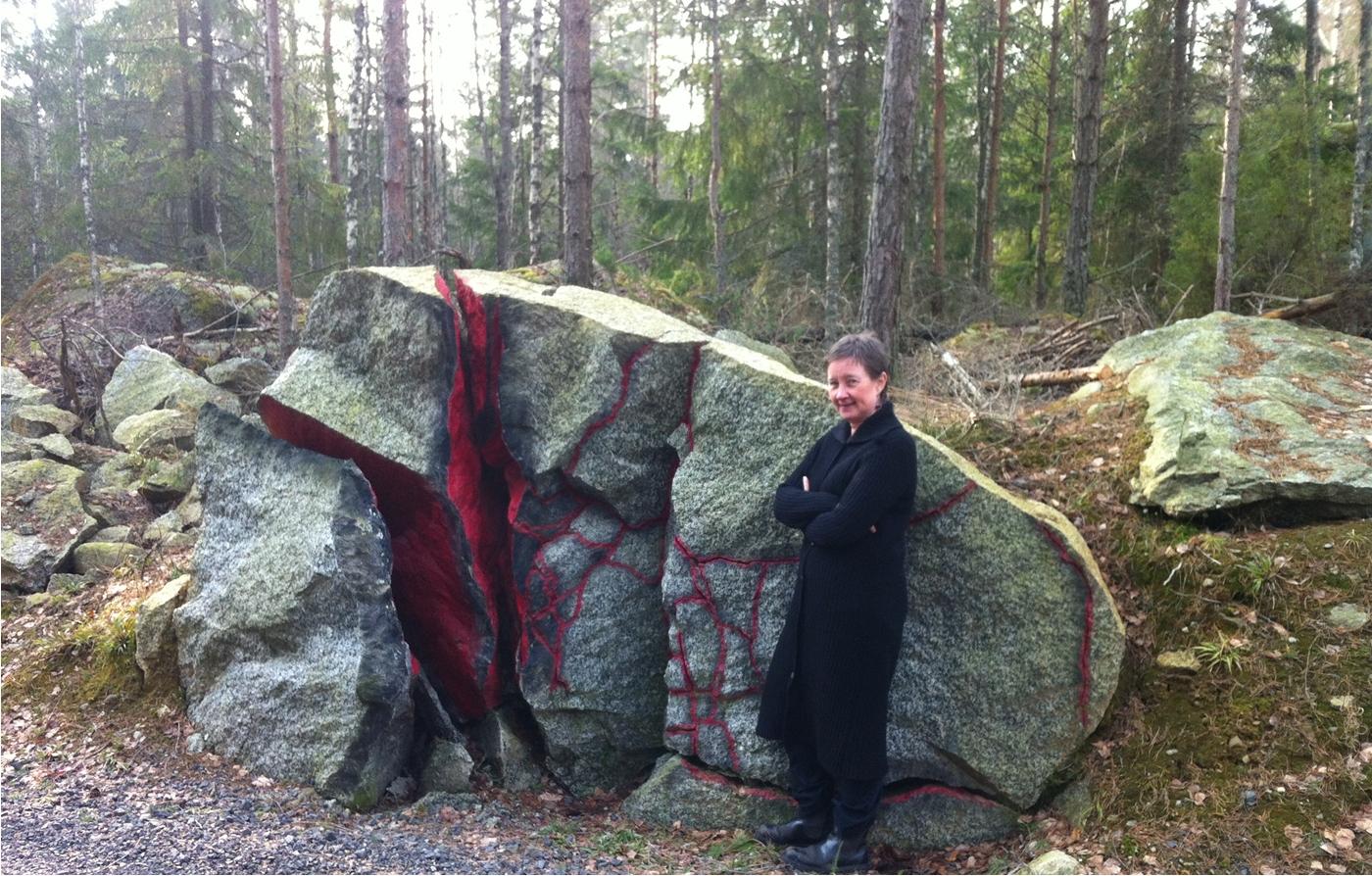 Marianna vid stenen